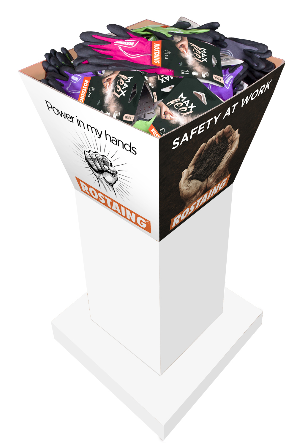 How to make winning shelf displays with Rostaing?